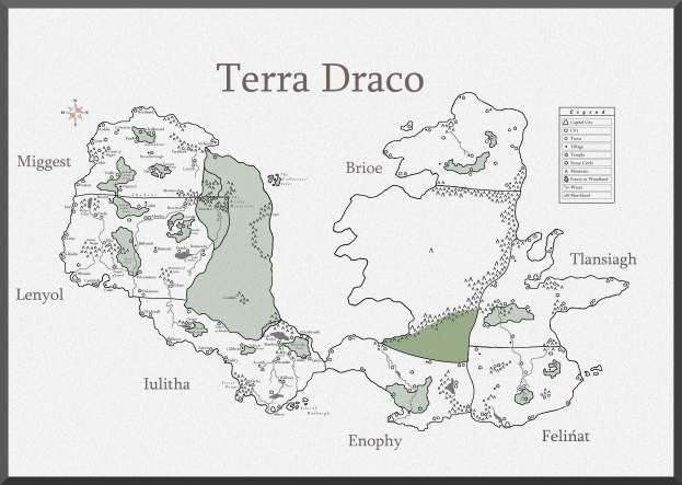 New Map of Terra Draco