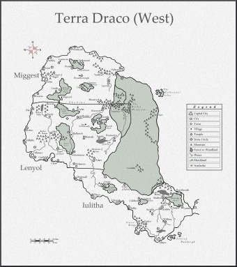 Terra Draco The West new gesula